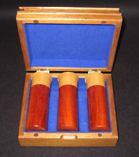 Palm gavels in the theme of the hunter's shotgun Cartridges & box
