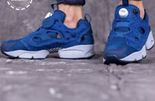 REEBOK INSTAPUMP FURY SP SZ 10.5 SPECKLE PACK BLUE NAVY GREY WHITE AQ9800