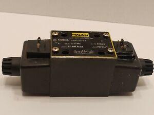 Parker D3W1CNYW4 Directional Control Valve 120V 60Hz 0.72A 3000 PSI 1500PSI