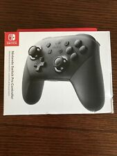 Nintendo Switch Wireless Pro Controller Black Official Brand New In Box!!