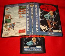 TINTIN AU TIBET Sega Mega Drive Tin Tin Versione Europea PAL SENZA MANUALE - DH
