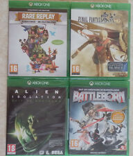 Lot 4 Jeux Rare Replay  Final Fantasy Type 0 HD  Alien isolation  XBOX ONE NEUF