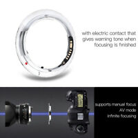 PK-EOS Lens Adapter w/Electric Contact for Pentax K Lens for Canon EOS Camera TG