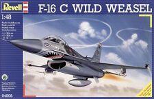 1/48 REVELL 04508; General Dynamics F-16C WILD WEASEL