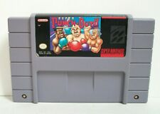 Super Punch-Out (Super Nintendo SNES) Authentic Cart Boxing Game Fighting Sports