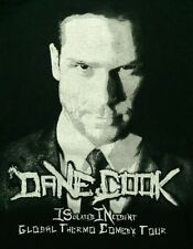 Dane Cook Isolated Incident Global Thermo Comedy Tour 2009 Shirt XL Stand-Up