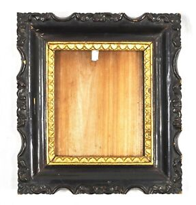 Antique Picture Frame Signed