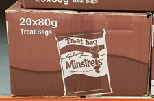 GALAXY Minstrels Treat Bags - FULL BOX 20 x 80g bags