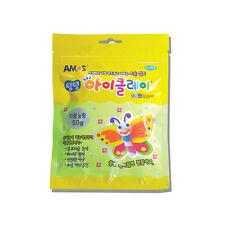 Amos IClay, Color clay (Air-dry)- luminous yellow color glow in dark 50g