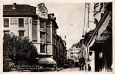 CPA Oyonnax Maison du Peuple et Rue Anatole France (684024)