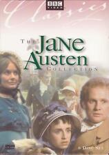6 DVD BOX SET - THE JANE AUSTEN COLLECTION - BBC Persuasion Emma Pride Prejudice