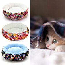 Pet Bed Cushion Mat Pad Dog Cat Kennel Crate Cozy Soft House Small Random