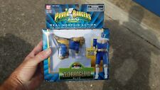 """Vintage unopened Power Rangers ZEO 5"""" Blue morphin Ranger lll 1996"""