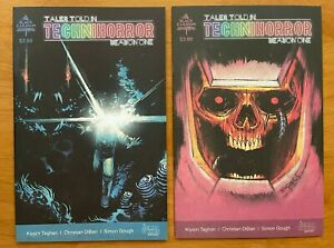 Tales told in Technihorror #1 Main Cover +  Dibari 1:10 Variant Scout Comics NM