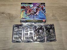 Digimon 1.5 Booster Box Display + 2 dash pack and 2 memorial pack