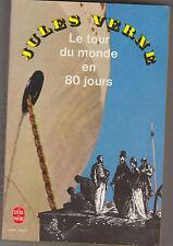 Le Tour du Monde en 80 Jours - Jules Verne.Jeunesse.  Hetzel. Poche 1991
