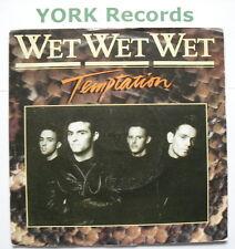 """WET WET WET - Temptation - Excellent Condition 7"""" Single Precious JEWEL 7"""