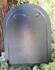 Memorial Tombstone mold plaster concrete casting mould