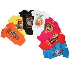 ED HARDY BABY *0/3MT* GIRLS 7 DAYS OF THE WEEK ONE PIECE SET *FREE XPEDITED S