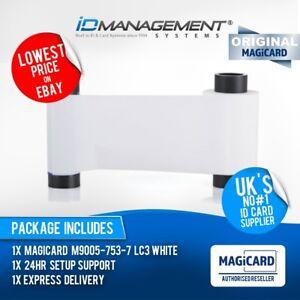 Magicard M9005-753-7 Blanc Monochrome Couleur Ruban 1000 Impressions