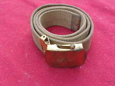 Vintage Bsa Boy Scout Belt And Buckle 33 Inches From End To End
