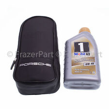 Porsche Oil top up kit and storage bag