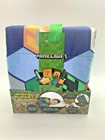 """NEW Minecraft Weighted Polyester Blanket Find The Pig Steve Alex 4.5 Lb 36""""x48"""""""