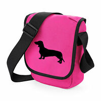 Dachshund Bag Shoulder Bags Birthday Gift, many colours, Smooth Haired Dachshund