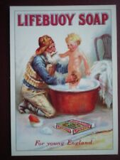 POSTCARD  LIFEBUOY SOAP FOR YOUNG ENGLAND