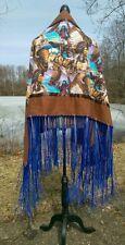""" Native Path ""Native American Style Shawl,Pow-Wow,Regalia,Limited Edition,"