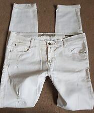 zara white jeans 10