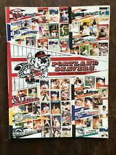 1993 Portland Beavers Program