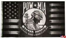 3x5 USA POW MIA Black All Gave Some Some Gave All Flag 3'x5' Banner Man Cave