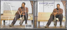 All For You by Everette Harp CD 12 tracks 2004 New Sealed