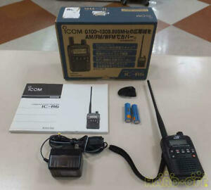 """【Icom】""""IC-R6 Wide Band 0.100-1309.995MHz Communication Handy Receiver"""" JAPAN NEW"""