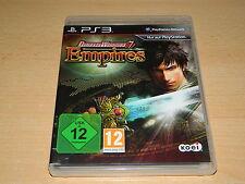PS3 - Dynasty Warriors 7 - Empires - USK 12 - gebraucht aber top Zustand