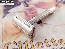 Gillette Flare Tip Super Speed Double Edge Safety Razor - K4 1965