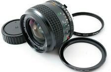 Excellent+++++ Minolta MC W. Rokkor 24mm f/2.8 Wide Angle MF Lens from Japan Fdx