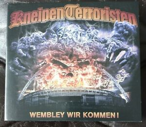 DIGIPACK  CD KNEIPENTERRORISTEN - WEMBLEY WIR KOMMEN!