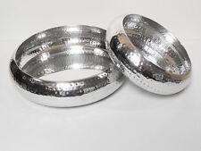 Decorative Aluminum Bowls  Set of 2
