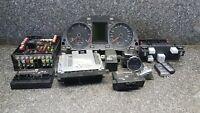 VW PASSAT B6 2.0TDI ENGINE ECU IGNITION KEY LOCK SET 03L907309 #G6C04