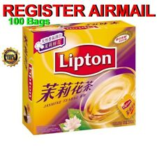 Lipton Jasmine Tea Bag TeaBags Box of 100 packs Hong Kong Chinese Style