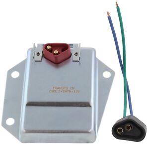 New Heavy Duty Adjustable Voltage Regulator and Harness for Chrysler/Dodge
