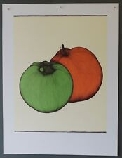 Original limited edition Art Hansen lithograph Texas Tomatos