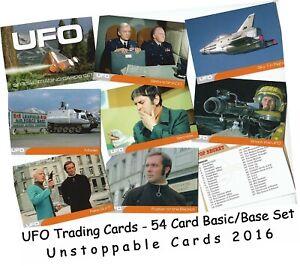 UFO U.F.O. Official Trading Cards - 54 Card Basic/Base Set - Unstoppable 2016