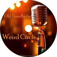 Weird Circle Old Time Radio Show OTR 78 Episodes on 1 MP3 CD Free Shipping