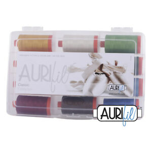 AURIFIL CLASSIC COLLECTION 12 LARGE SPOOLS 100% COTTON 50WT