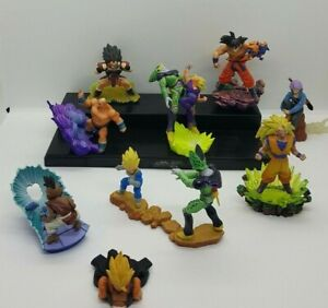 Lot 9 Figurines Dragon Ball dracaps néo capsule megahouse incomplètes cassées im