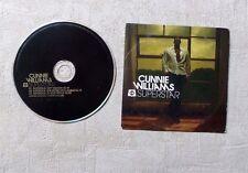 "CD AUDIO MUSIQUE/ CUNNIE WILLIAMS ""SUPERSTAR"" 3T CD SINGLE 2004 CARDBOARD SLEEVE"