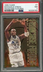 """Shaquille """"Shaq Daddy"""" O'Neal 1995 Fleer """"Franchise Futures"""" #7 ** PSA 7 **"""
